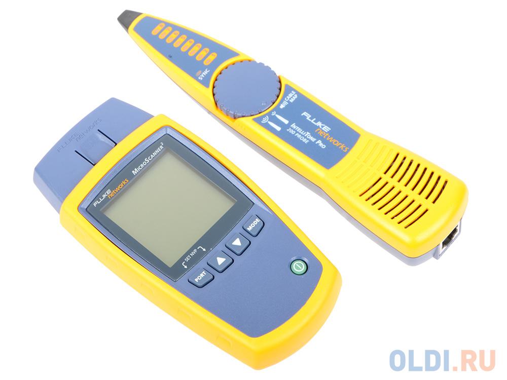 Тестер кабеля Fluke MS2-KIT MicroScanner2 Prof Kit  - купить со скидкой