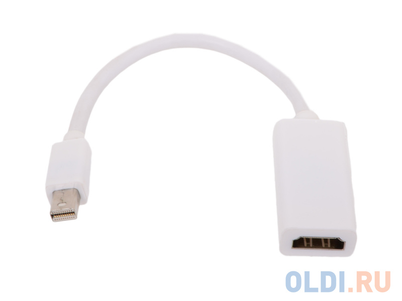 Кабель-переходник VCOM Telecom Mini DisplayPort - HDMI TA6055 6926123462157
