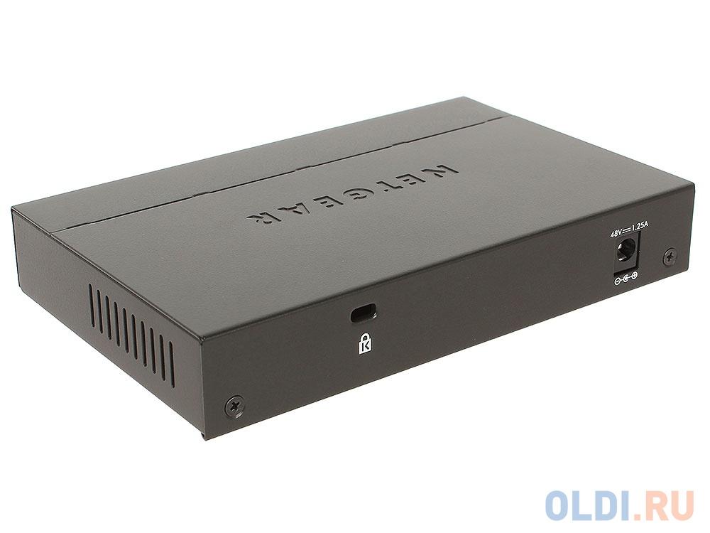 Коммутатор NETGEAR  FS108PEU 8-портовый FE коммутатор с 4-портами PoE