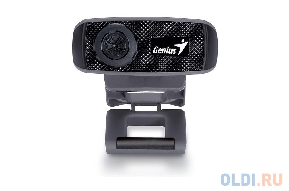 Фото - Веб-Камера Genius FaceCam 1000X V2 черный , 720p HD, встроенный микрофон, USB 2.0. web camera genius facecam 1000x v2 720p 30 fps bulld in microphone manual focus black