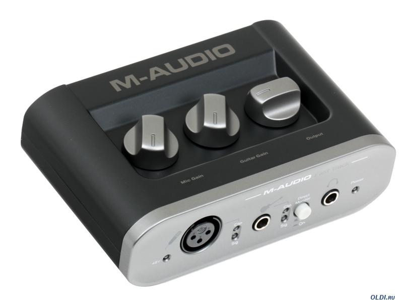 M-Audio Fast Track - купить Звуковая карта M-Audio Fast Track ...