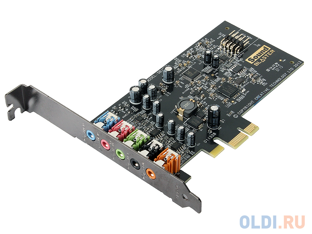 Звуковая карта S.B.Creative AUDIGY FX (SB1570) PCI-eX Retail фото