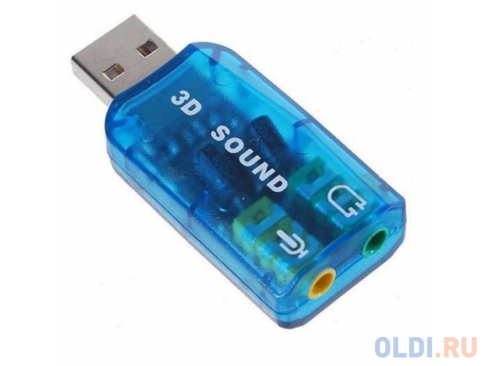 Звуковая карта внешняя USB C-media CMi108 ASIA USB 6C V Retail