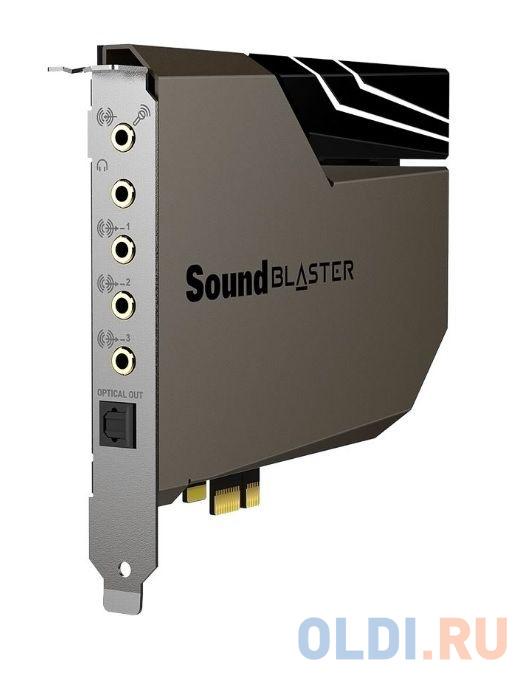 Звуковая карта Creative PCI-E Sound Blaster AE-7 (Sound Core3D) 5.1 Ret звуковая карта creative sound blasterx ae 7 pci ex int retail 70sb180000000