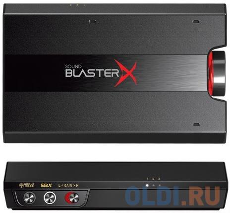 Звуковая карта USB Creative Sound BlasterX G5 7.1 70SB170000000 Retail звуковая карта creative sound blasterx g6