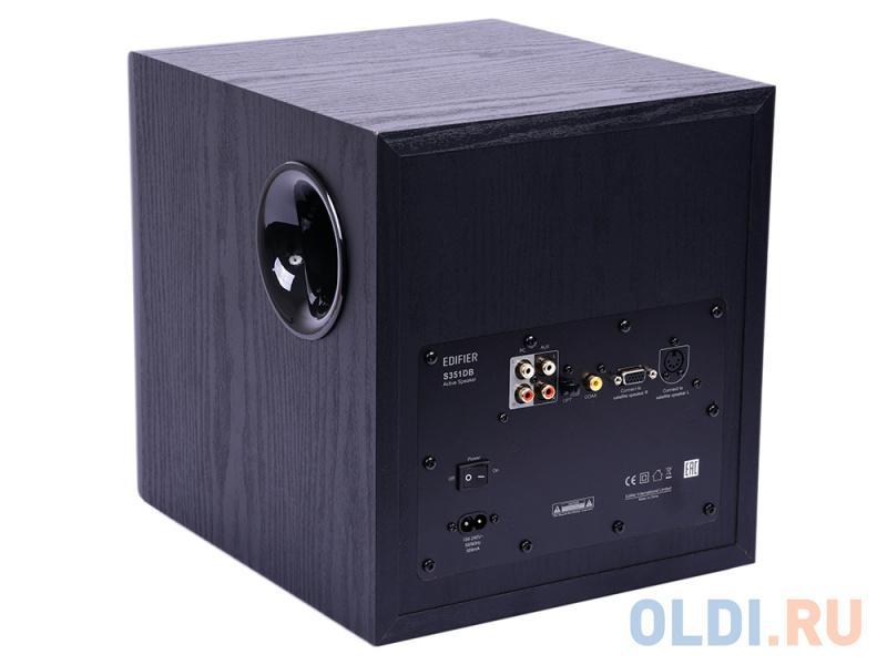 Колонки Edifier S351DB Black <2.1,150W RMS, дерево, Bluetooth aptX
