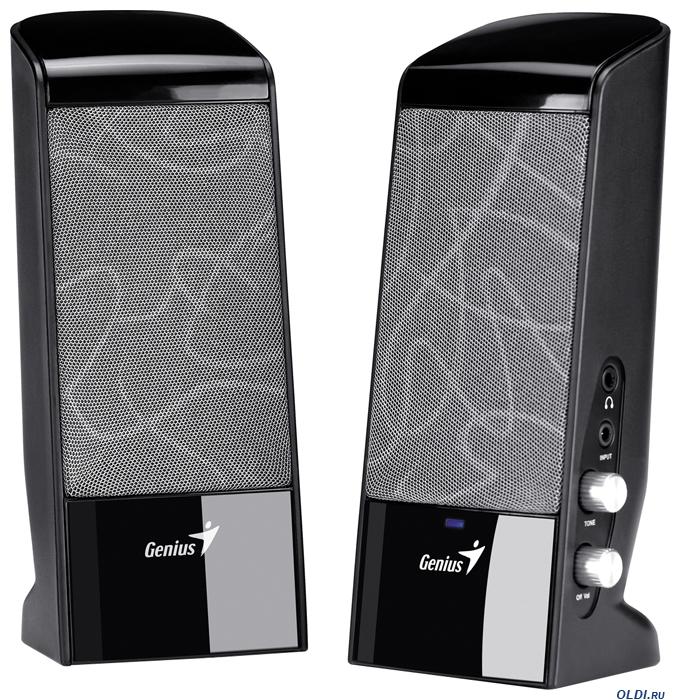 Genius SP-J200 Black - купить Колонки Genius SP-J200 Black, лучшая ...