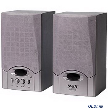 Колонки Sven SPS-606 Silver