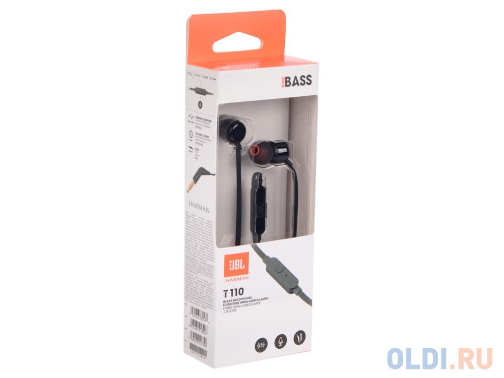 Наушники JBL T110 Black — купить по лучшей цене в интернет-магазине ... 24b2956032381