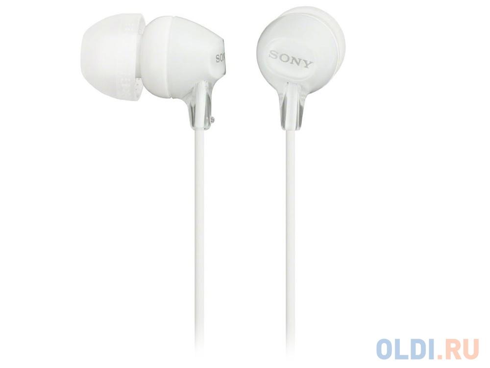 Наушники Sony MDR-EX15LPW White — купить по лучшей цене в интернет ... 479df85ee2a82