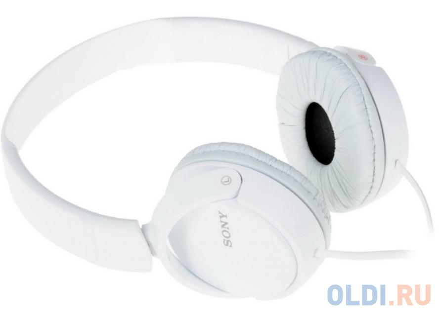 Наушники Sony MDR-ZX110W White — купить по лучшей цене в интернет ... b87fc0e644d95