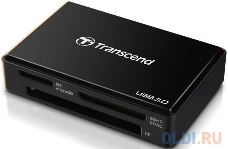Считыватель карты памяти Transcend USB 3.0 Transcend All-in-1 Multi Card Reader, Black