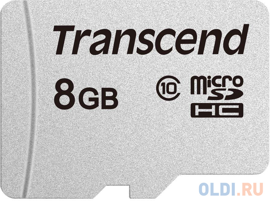 Transcend 8GB microSDHC Class 10 UHS-I U3 V30 A1 R95, W45MB/s without SD adapter фото