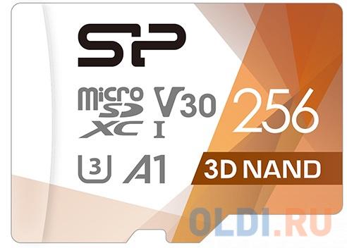 Флеш карта microSD 256GB Silicon Power Superior Pro A1 microSDXC Class 10 UHS-I U3 Colorful 100/80 Mb/s (SD адаптер) SP256GBSTXDU3V20AB флеш карта microsd 256gb silicon power superior pro a1 microsdxc class 10 uhs i u3 colorful 100 80 mb s sd адаптер sp256gbstxdu3v20ab
