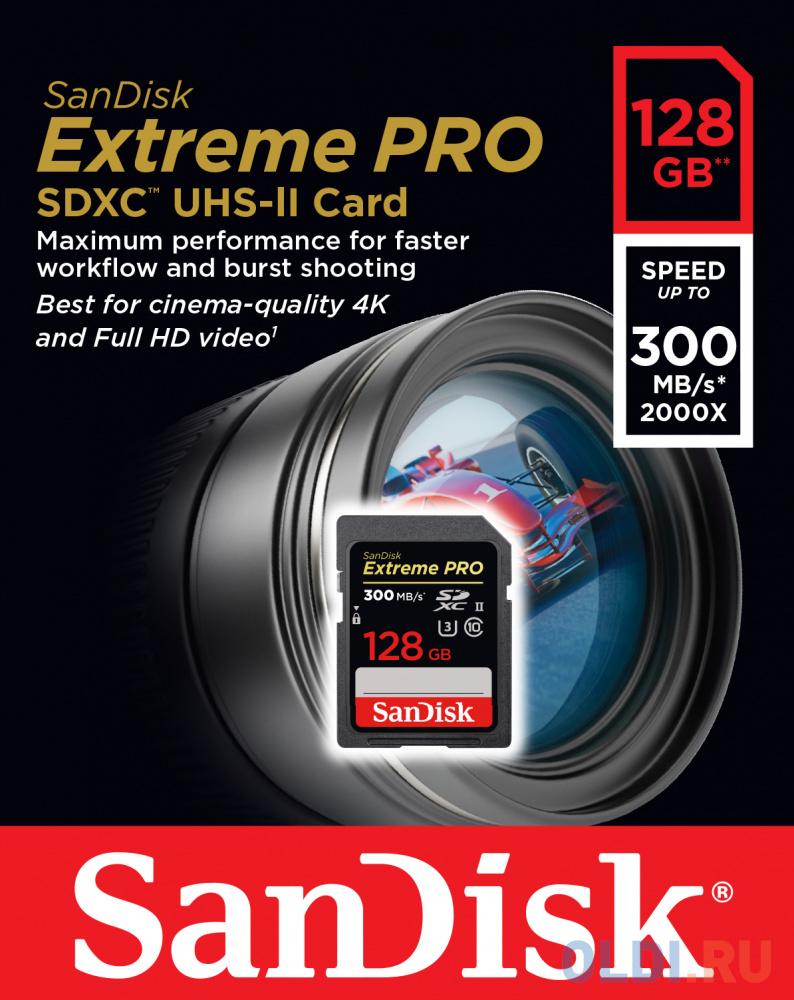 Фото - Карта памяти SDXC 128Gb Class 10 Sandisk SDSDXPK-128G-GN4IN карта памяти micro sdxc 128gb class 10 pro leef lfmsdpro 12810r