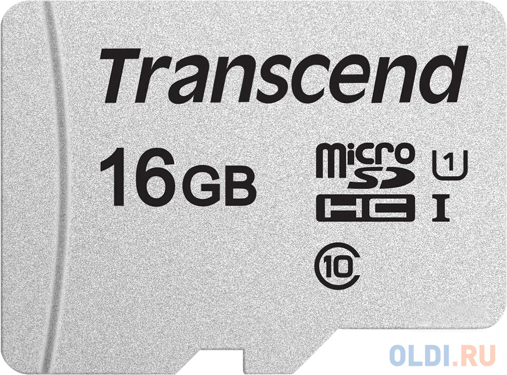 Флеш карта microSDHC 16Gb Class10 Transcend TS16GUSD300S w/o adapter фото