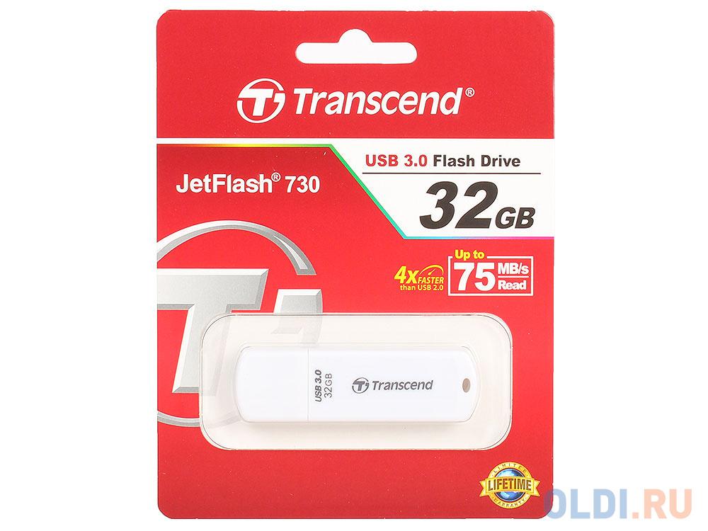 USB флешка Transcend 730 32Gb White (TS32GJF730)