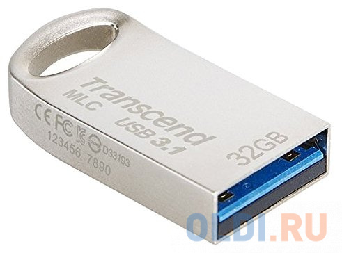 Флешка 32Gb Transcend 720S USB 3.1 серебристый TS32GJF720S