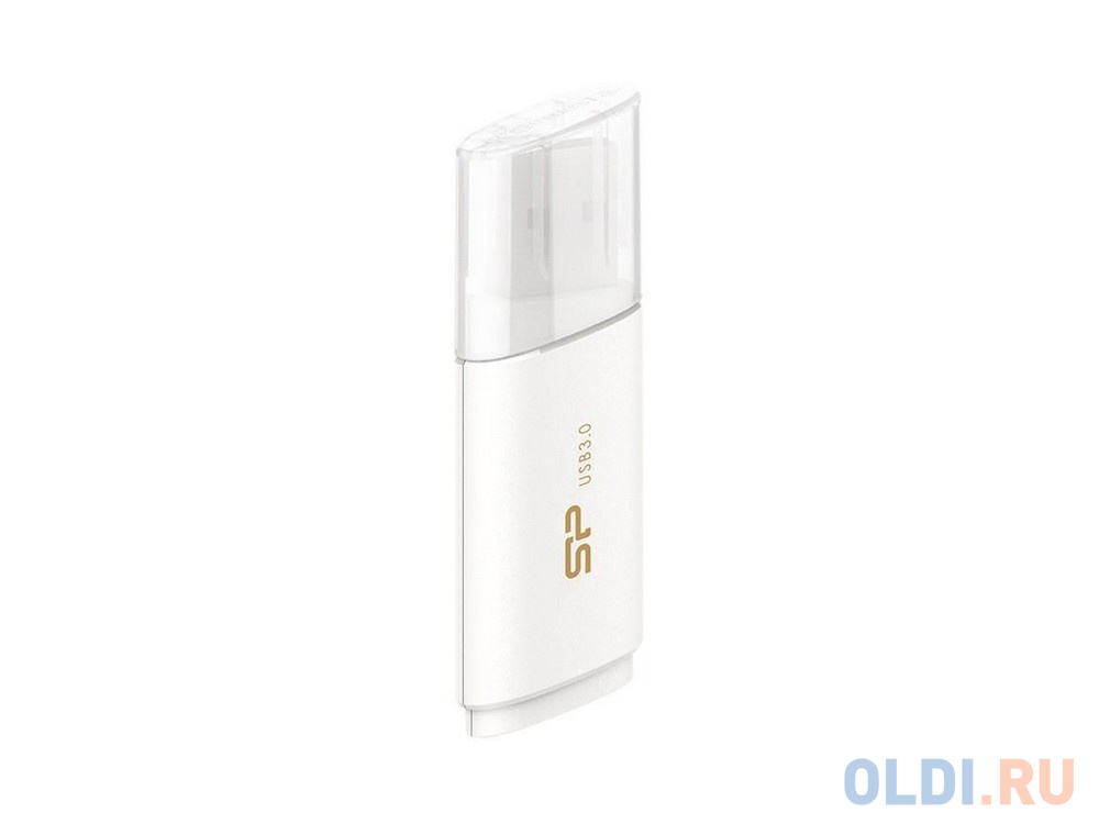Флешка USB 8Gb Silicon Power Blaze B06 SP008GBUF3B06V1W белый