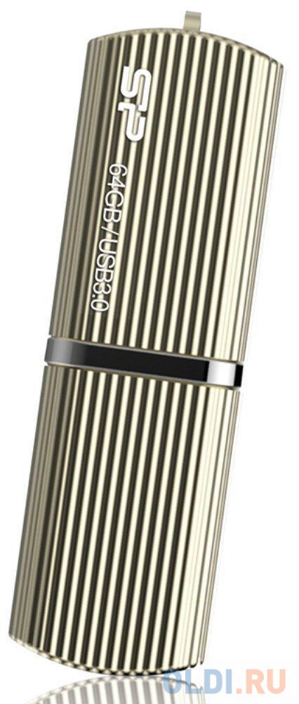 Флешка USB 64GB Silicon Power M50 SP064GBUF3M50V1C золотистый usb flash drive 64gb silicon power marvel m50 usb 3 0 blue sp064gbuf3m50v1b