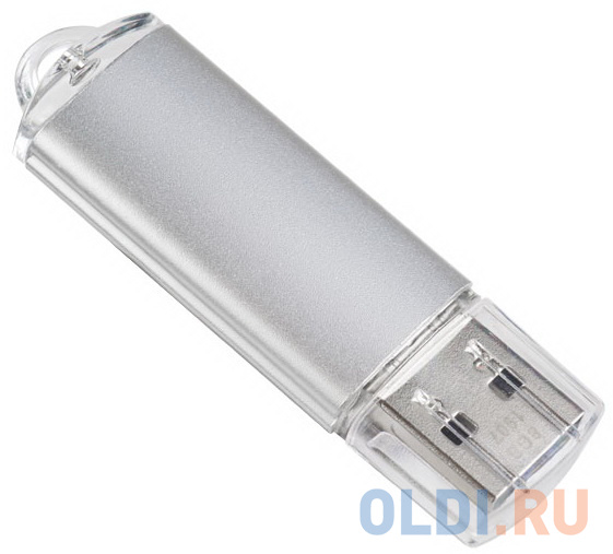 Флешка 64Gb Perfeo E01 USB 2.0 серебристый