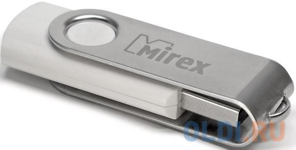 Флешка USB 8Gb Mirex Swivel 13600-FMUSWT08 белый