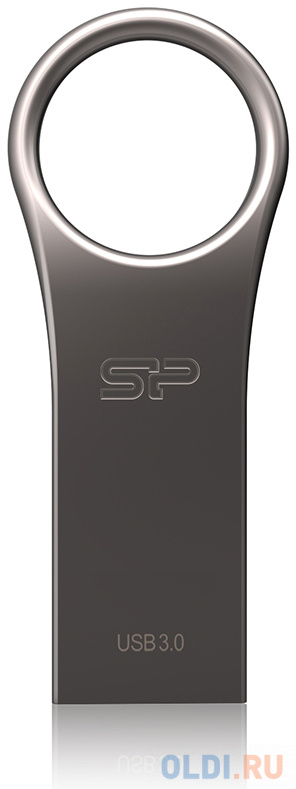 Флешка 128Gb Silicon Power SP128GBUF3J80V1T USB 3.0 серебристый