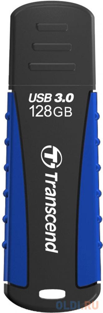 Флешка 128Gb Transcend JetFlash 810 USB 3.0 синий черный