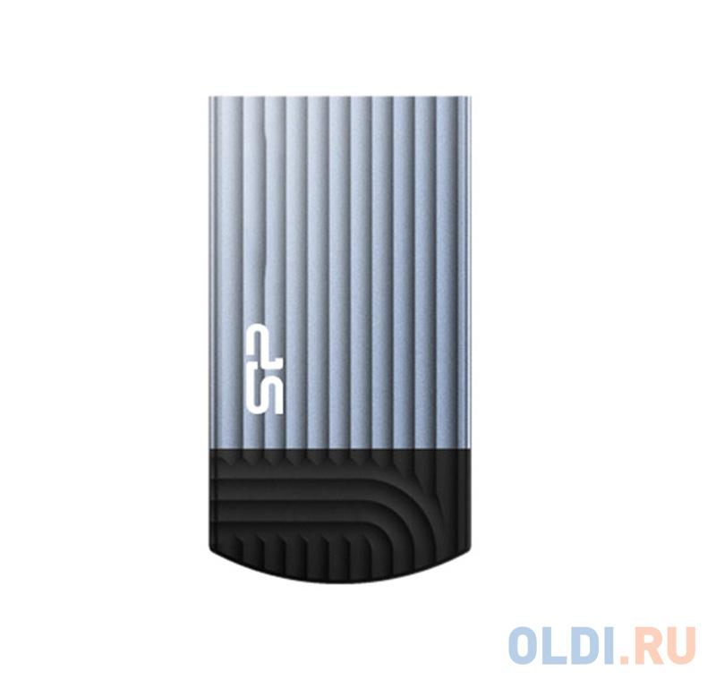 Фото - Флеш накопитель 64Gb Silicon Power Jewel J20, USB 3.1, Синий накопитель usb 2 0 32gb silicon power touch 810 sp032gbuf2810v1b синий