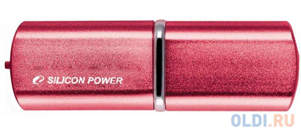 Флешка USB 64GB Silicon Power LuxMini 720 SP064GBUF2720V1H розовый