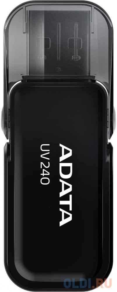 A-DATA Flash Drive 32Gb UV240 AUV240-32G-RBK {USB2.0, Black} usb flash drive 128gb a data uv150 black auv150 128g rbk