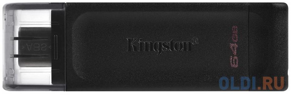 Флешка 64Gb Kingston DT70/64GB USB 3.0 черный