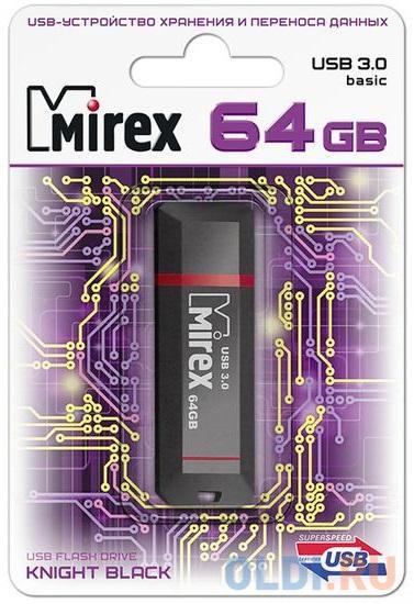 Флешка 128Gb Mirex Knight USB 3.0 черный