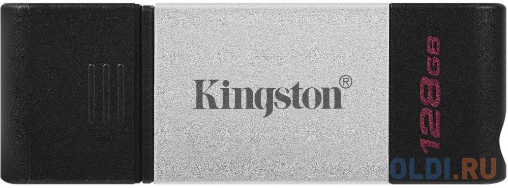 Флешка 128Gb Kingston DT80 USB 3.2 черный