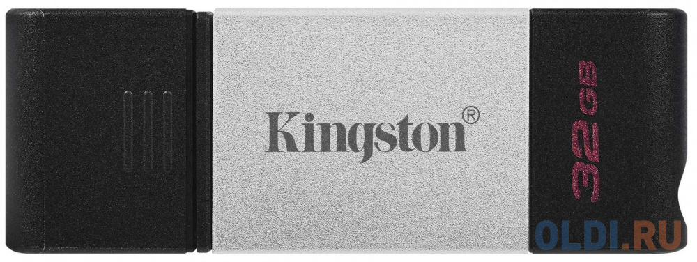 Флешка 32Gb Kingston DT80 USB 3.2 черный