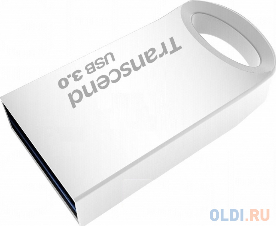 Флешка 128Gb Transcend JetFlash 710 USB 3.1 серебристый