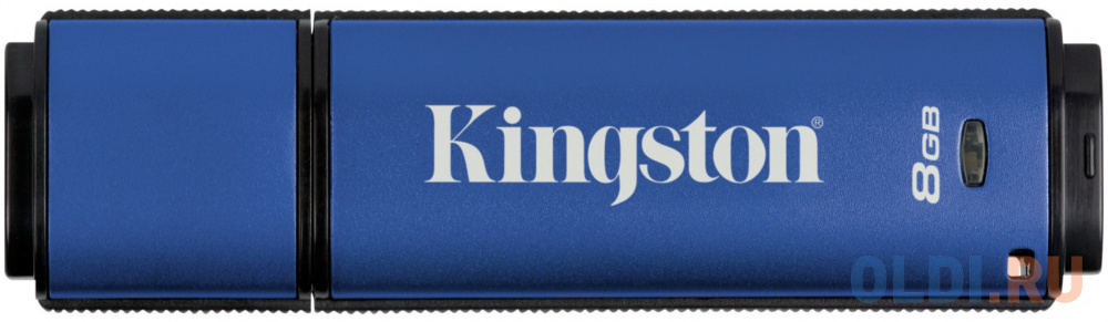 Флешка 8Gb Kingston DTVP30DM/8GB USB 3.0 синий