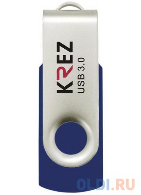 Флешка USB 32Gb Krez 401 синий KREZ401U3L32
