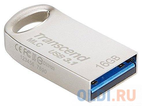 Флешка 16Gb Transcend 720 MLC USB 3.1 серебристый TS16GJF720S