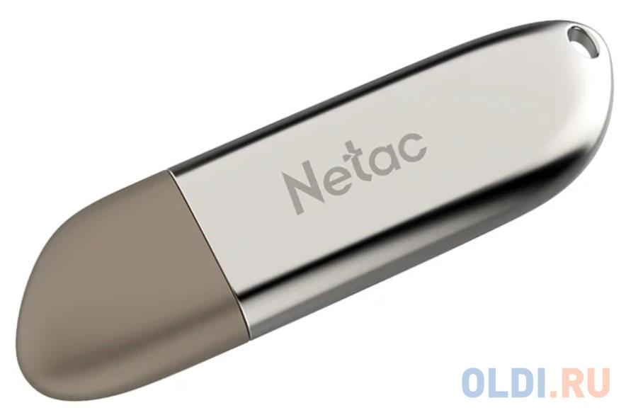 Флешка 16Gb Netac U352 USB 3.0 серебристый