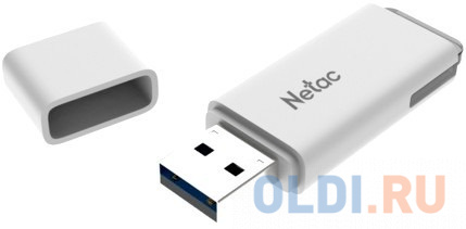Флешка 32Gb Netac U185 USB 3.0 белый