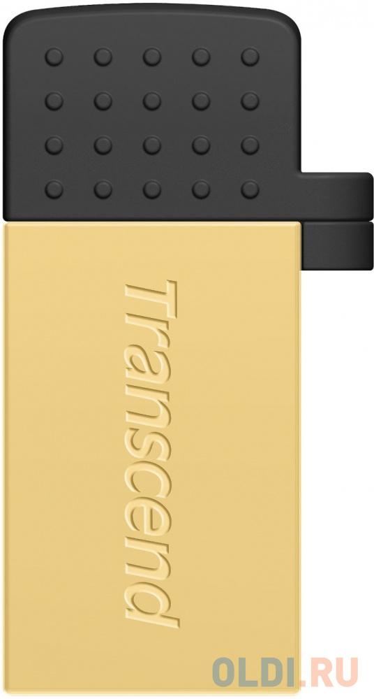 Флешка USB 64Gb Transcend Jetflash 380 TS64GJF380G золотистый