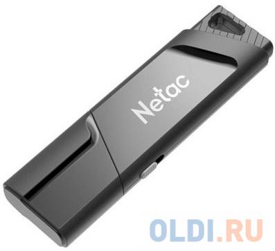 Флешка 32Gb Netac U336S USB 3.0 черный