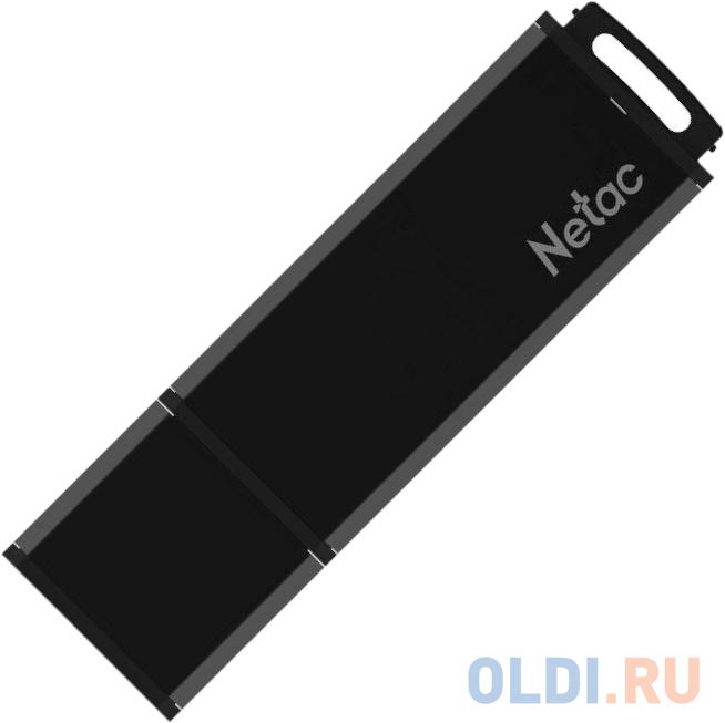 Флешка 64Gb Netac U351 USB 2.0 черный