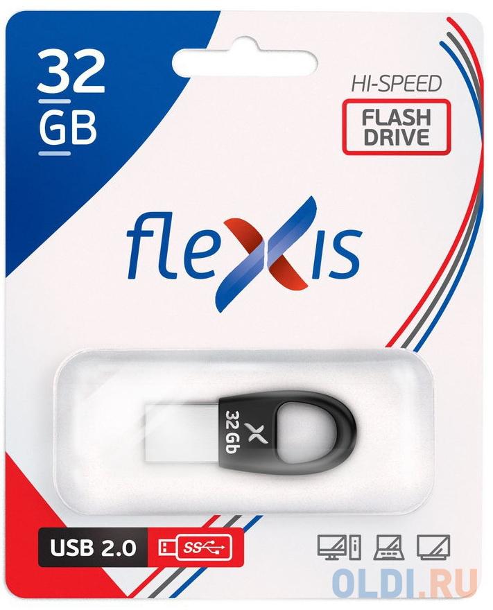 Флэш-драйв Flexis RB-102, 32 Гб, USB 2.0