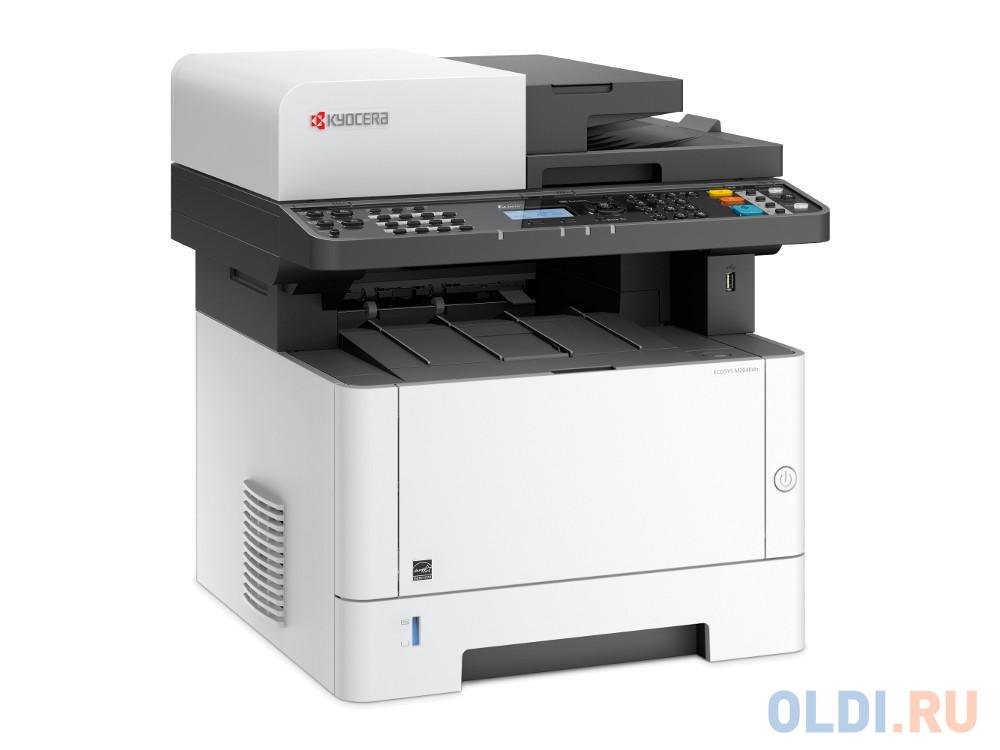 МФУ Kyocera M2040DN (копир, принтер, сканер, DADF, duplex, LAN, 40 ppm, A4) замена M2030dn