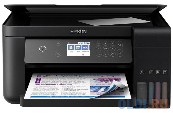 МФУ EPSON L6160 Принтер/сканер/копир. A4. Фабрика Печати. Цветной. Wi-Fi.