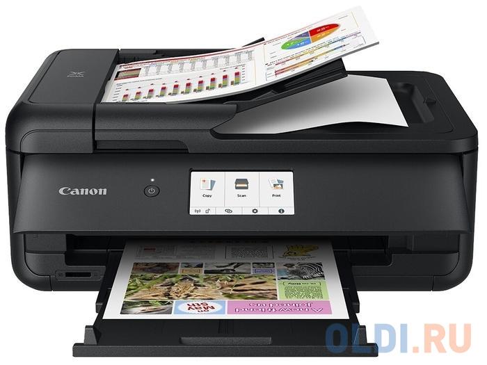 МФУ Canon PIXMA TS9540, A3 (струйный, принтер, сканер, копир, 4800dpi, Bluetooth, WiFi, AirPrint, duplex, Сенсорный дисплей)