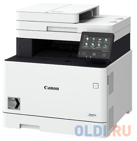МФУ Canon i-SENSYS MF742Cdw (копир-цветной принтер-сканер duplex, DADF, 27стр. мин. 1200x1200dpi, WiFi, LAN, A4) замена MF732Cdw