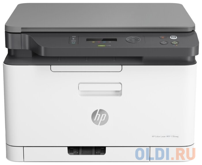 МФУ HP Color Laser 178nw 4ZB96A принтер/сканер/копир, A4, 18/4 стр/мин. 128Мб, USB, LAN, WiFi (замена SS257L Samsung SL-C480W)